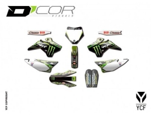 Grafik Kit D'COR® MONSTER CAMO 20-90-101