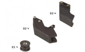 YCF Ketten Führungen YC110-1004 - YC110-1005 / Kettenrolle YC110-2201