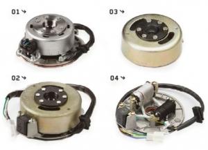 YCF Lichtmaschinenteile - Stator und Flywheel