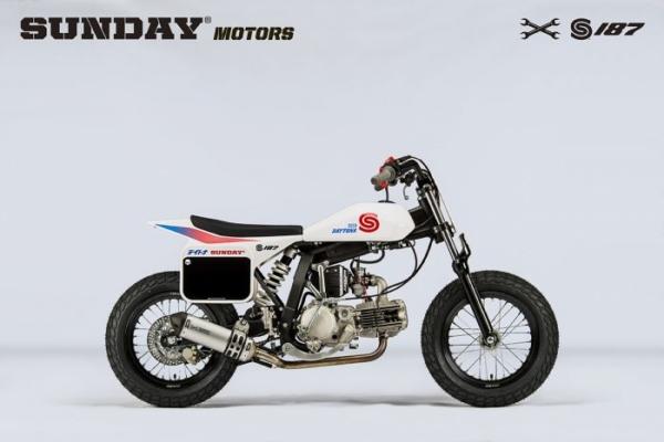 FLAT TRACK BIKE Sunday Motors S187