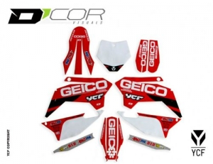 D'COR GEICO GRAPHIC KIT PILOT-FACTORY 20-90-107