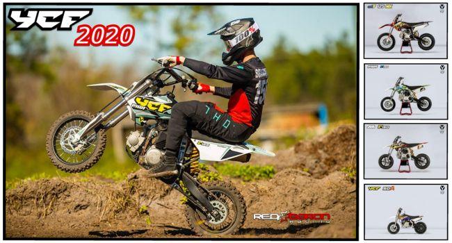 YCF 2020 - Pitbike - Supermoto - Minimoto - Bigy