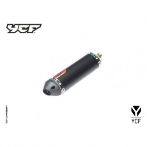 YCF Factory Racing Aupuff Endämpfer YC110-13014-03BK